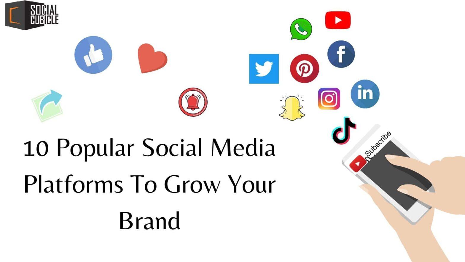 Social Media Platforms for brands